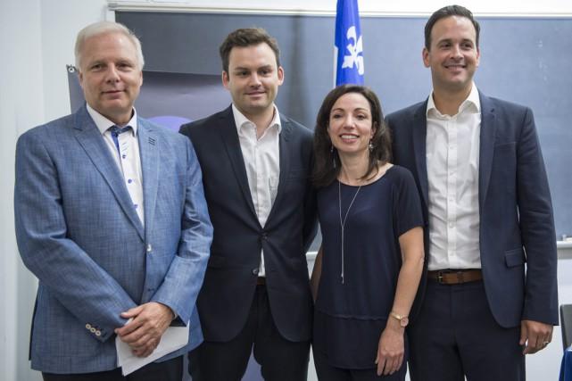 Les candidats à la direction du Parti québécois... (Archives La Presse Canadienne, Paul Chiasson)