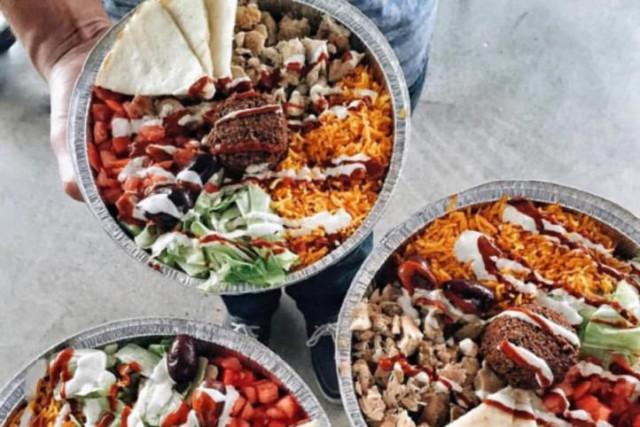 L'assiette de falafel est un des classiques du... (Photo tirée de Facebook)