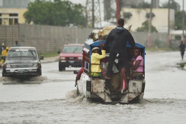 Les rues de la capitale haïtienne Port-au-Prince étaient... (photo hector retamal, afp)