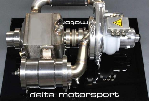 Delta Motorsport affirme que son prototype de turbine... (photo : Delta Motorsport)
