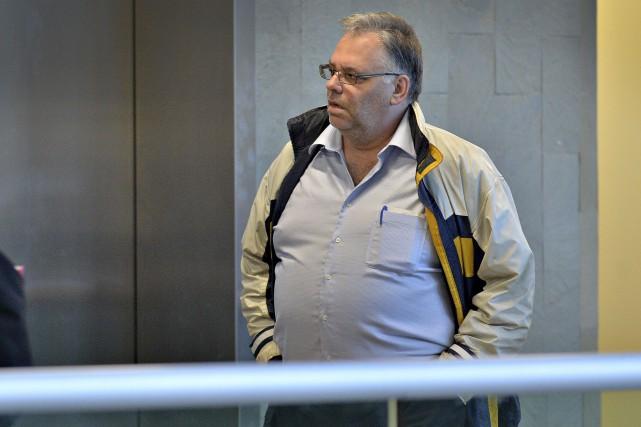 Denis Laverdières'est présenté sans avocat au palais de... (Patrice Laroche)