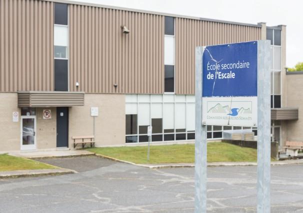 La direction de l'école secondaire l'Escale a suspendu... (Spectre Média, Frédéric Côté)