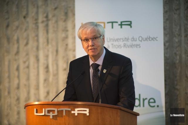 Le recteur de l'Université du Québec à Trois-Rivières,... (Sylvain Mayer, Le Nouvelliste)