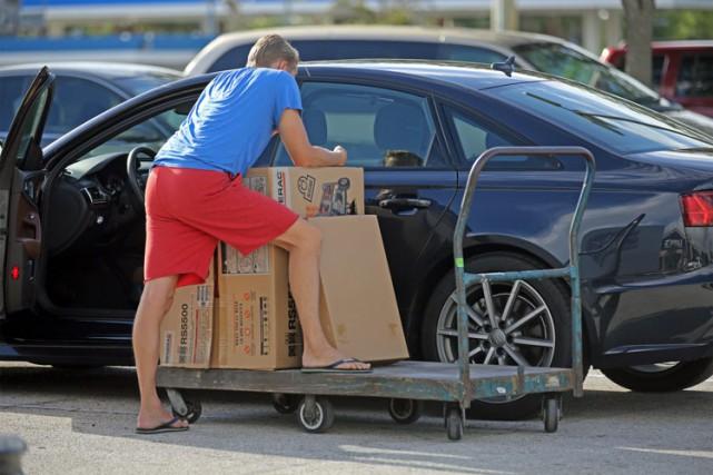 Un résidant d'Oakland Park, en Floride, s'est procuré... (PHOTO AP)
