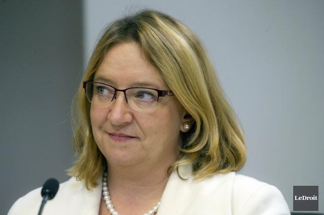 La conseillère Sylvie Goneau... (Martin Roy, Archives LeDroit)