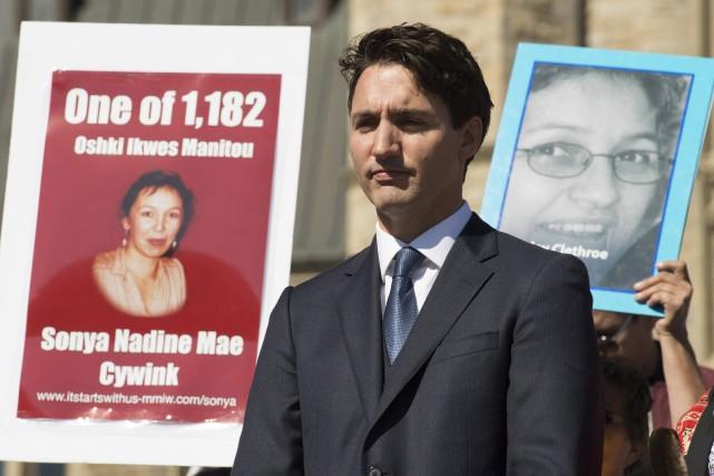 Le premier ministre a reconnu les lacunes des... (Photo Adrian Wyld, La Presse Canadienne)