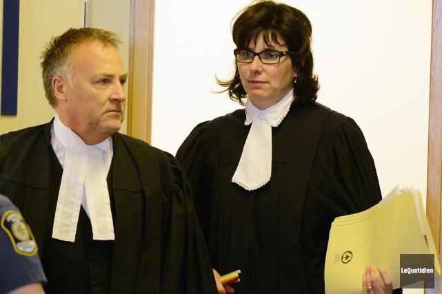 La procureure de la Couronne, Me Claudine Roy,... (Archives Le Quotidien, Jeannot Lévesque)