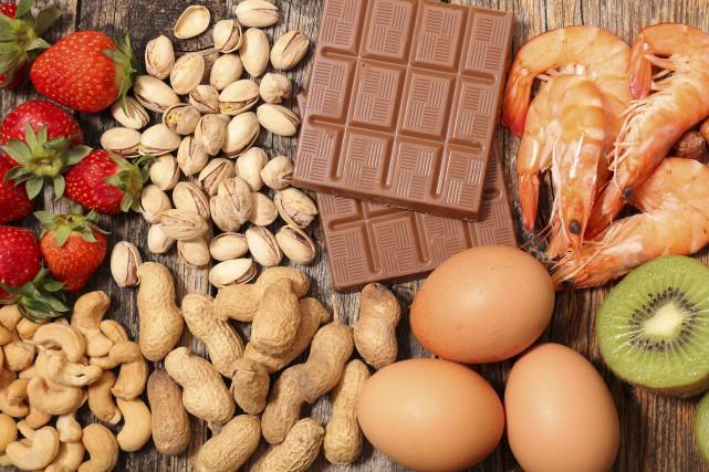 Les allergies alimentaires touchent de 3 à 6%... (123RF,margouillat)