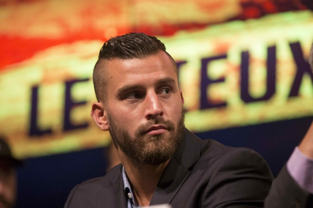 Le boxeur David Lemieux... (Archives, La Presse)