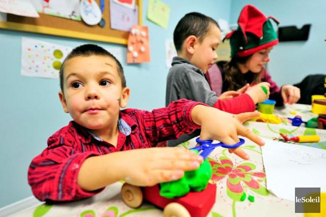 Il y a actuellement un momentum pour faire du développement de nos enfants une... (Photothèque Le Soleil)