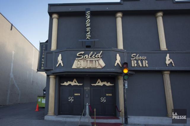 Le Solid Gold était autrefois le quartier général... (PHOTO OLIVIER PONTBRIAND, LA PRESSE)