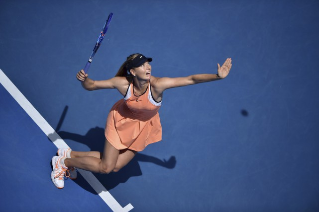 Maria Sharapova a reconnu avoir pris du meldonium... (AFP, Peter Parks)