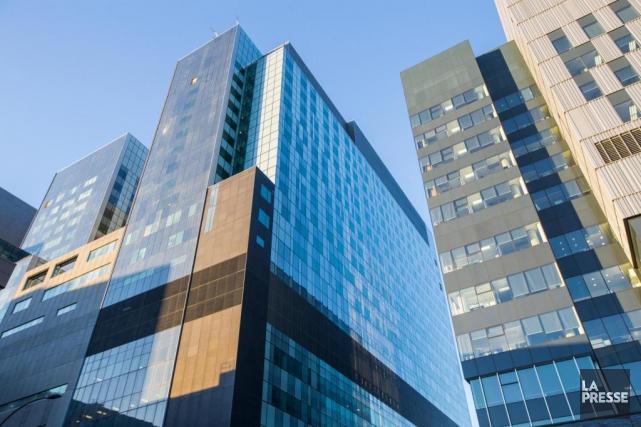 Des entreprises viennent de déposer six hypothèques légalespour... (PHOTO OLIVIER PONTBRIAND, LA PRESSE)