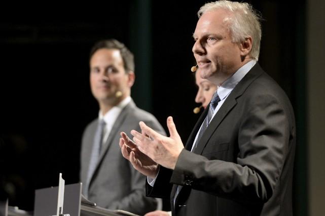 L'aspirant-chef Jean-FrançoisLisée propose au Parti québécois que, lors... (Le Soleil, Yan Doublet)
