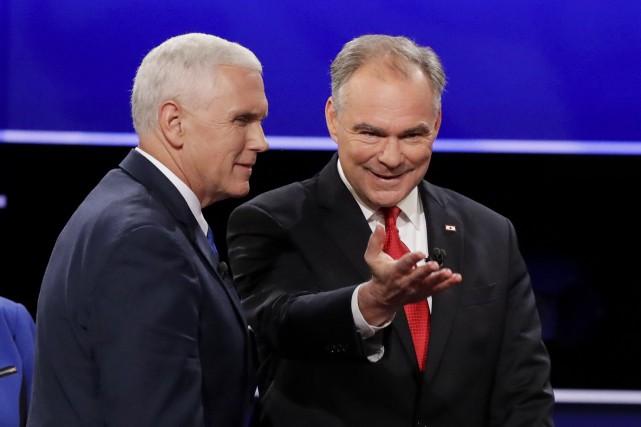 Le candidat à la vice-présidence pour les républicains,... (AP, David Goldman)