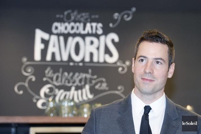 Le président de Chocolats Favoris, Dominique Brown... (Photothèque Le Soleil, Jean-Marie Villeneuve)