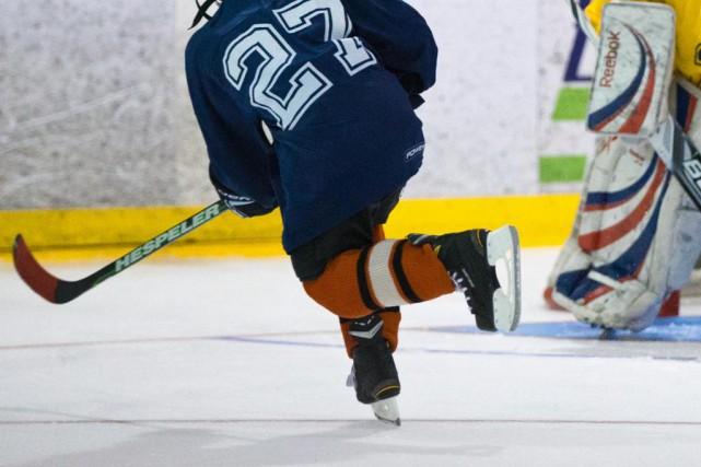 Au hockey mineur, les entraînements punitifs peuvent être... (Photo Olivier Jean, Archives La Presse)