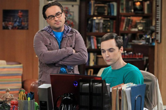 Johnny Galecki et Jim Parsons de la série... (Photo  Sonja Flemming, fournie par CBS)