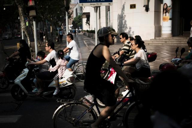La plupart des Chinois (75%) estiment que leur... (Photo Fred Dufour, archives Agence France-Presse)