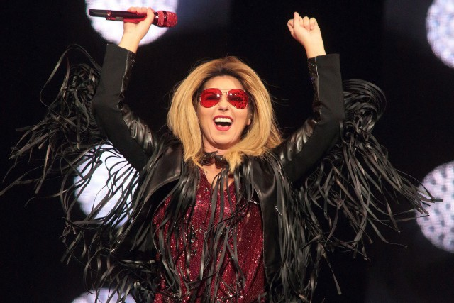 Shania Twain... (Photo Owen Sweeney, archives AP)
