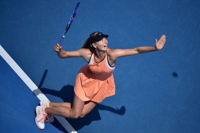 Maria Sharapova... (Peter Parks, Archives AFP)