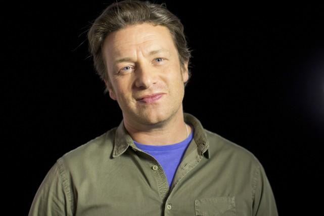 Le chef britannique Jamie Oliver était à Toronto... (PHOTO LA PRESSE CANADIENNE)