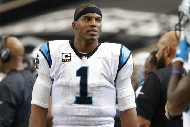Cam Newton... (Photo Jason Getz, USA Today Sports)