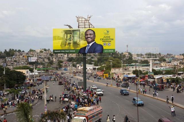 Haïti est plongée dans une crise politique profonde... (PHOTO AP)