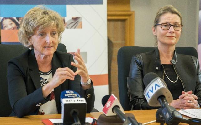 La direction du centre d'hébergement Argyll affirme que l'altercation qui a... (Spectre Média, Marie-Lou Béland)