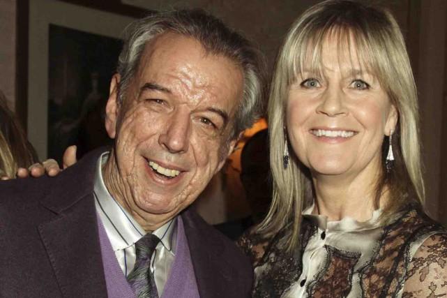 Rod Temperton et sa femme Kathy... (Archives AP)
