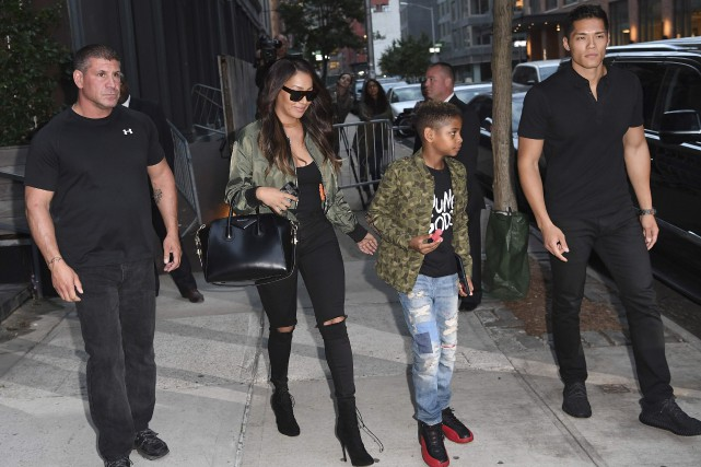 L'amie du couple Kim Kardashian-Kanye West La La... (AFP, Angela Weiss)