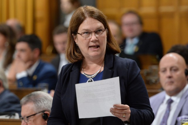 La ministre canadienne de la Santé Jane Philpott... (Photo Sean Kilpatrick, La Presse Canadienne)