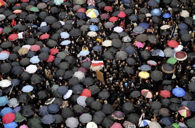 Quelque 100000 personnes, selon l'estimation prudente de la... (AFP, Janek Skarzynski)