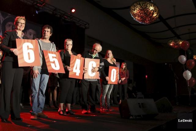 CHRONIQUE / «Aidez-nous à changer la vie de 65400 personnes.» (Patrick Woodbury, LeDroit)
