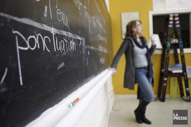 Cinquante-trois (53) pour cent des Québécois sont, à divers niveaux, des... (Archives, La Presse)