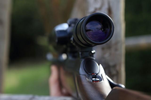 Un chasseur a subi des blessures importantes à une jambe après que son... (123rf)