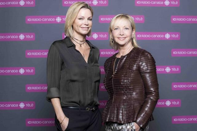 Caroline Néron et Christiane Germain succéderont à Danièle... (Fournie par ICI Radio-Canada Télé)