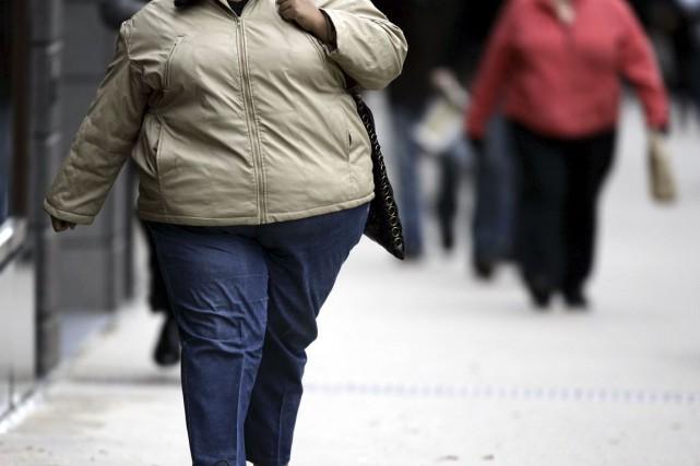 L'obésité est «en recrudescence depuis 10 ans», souligne... (Archives, AFP)