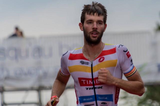 Pierre-Marc Doyon a gagné le Ironman de Mont-Tremblant... (Courtoisie)