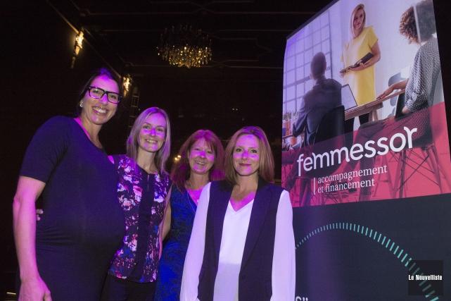 Au lancement de la saison de Femmessor, on... (Stéphane Lessard, Le Nouvelliste)