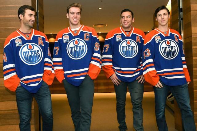 Le plus jeune capitaine de l'histoire de la... (Twitter, Oilers d'Edmonton)