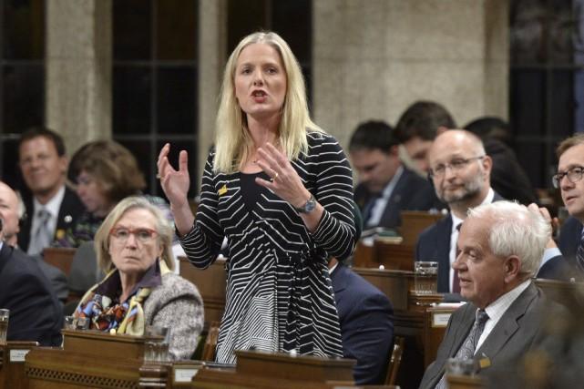 La ministre canadienne de l'Environnement et des Changements... (La Presse Canadienne, Sean Kilpatrick)