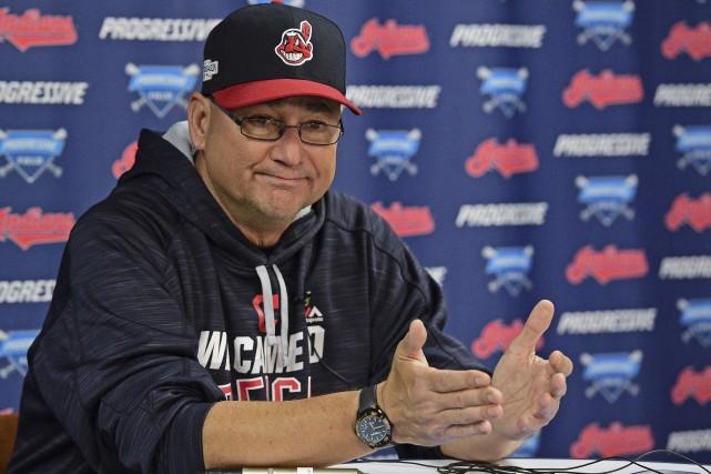 Le gérant des Indians de Cleveland, Terry Francona,... (AP, David Dermer)