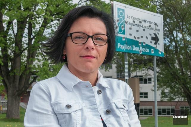Nancy Poulin est très inquiète de la détresse... (Archives Le Quotidien, Michel Tremblay)