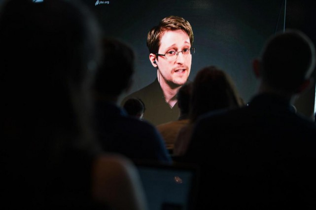 Edward Snowden a reconnu en 2013 dans une vidéo... (photo Kayana Szymczak, archives the new york times)