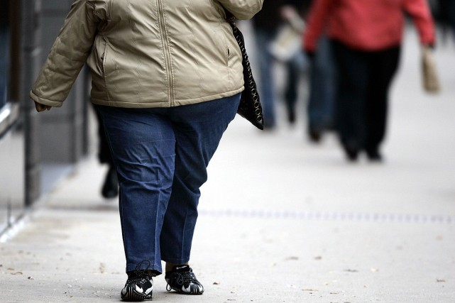 Les enfants dont la mère était obèse étaient... (PHOTO ARCHIVES AFP)
