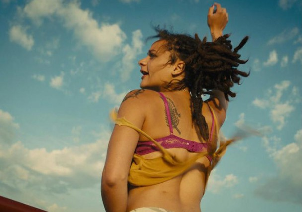 Sasha Lane dans American Honey... (Photo fournie par A24)