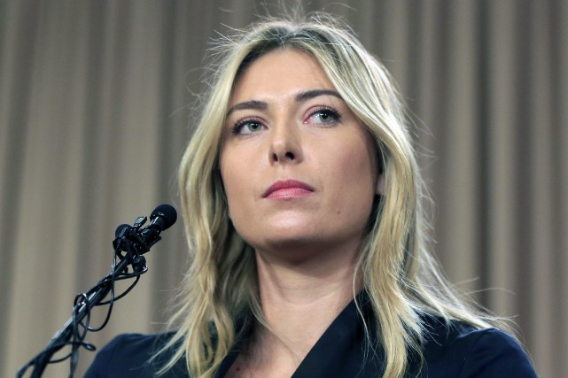 Maria Sharapova a accusé la Fédération internationale de tennis... (Photo Damian Dovarganes, archives AP)