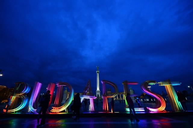 La candidature de Budapest aux Jeux olympiques de... (Photo Attila Kisbenedek, archives AFP)