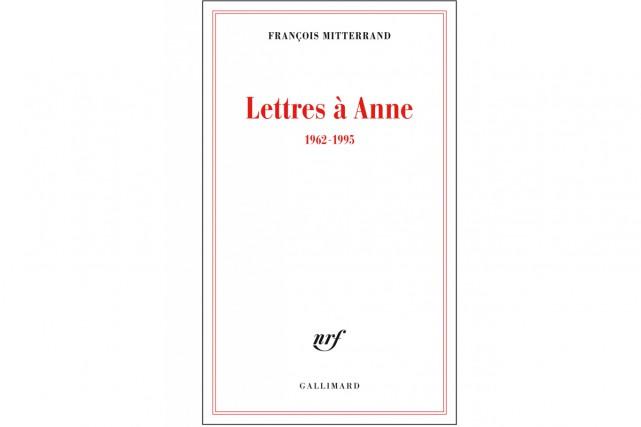 Le recueil Lettres à Anne, 1962-1995 (éditions Gallimard),... (CAPTURE D'ÉCRAN)